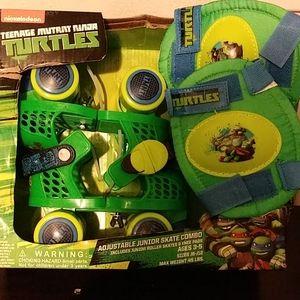 Ninja Turtle adjustable skates